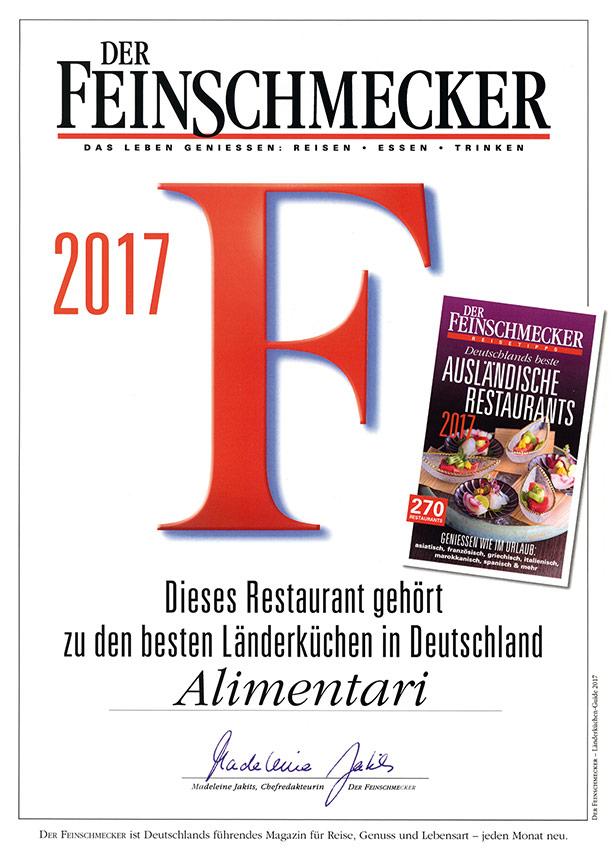 Feinschmecker-Plakat
